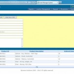 Lexian's Event Management interface Supply Chain Managment Tools
